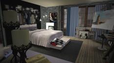 Квартира Агнессы. Спальня Агнессы - 1