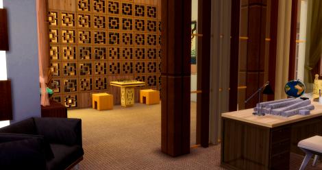 Дом Сашио. Первый этаж 11